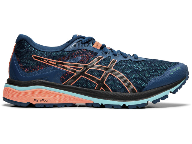 newest c6824 8e8c9 asics GT-1000 8 G-TX Shoes Women mako blue/black